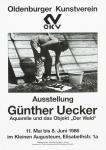 Uecker, Günther - 1986 - Oldenburger Kunstverein