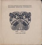 Bauer, Leopold - 1902 - Mitteilungen der Vereinigung Bildender Künstler Österreichs